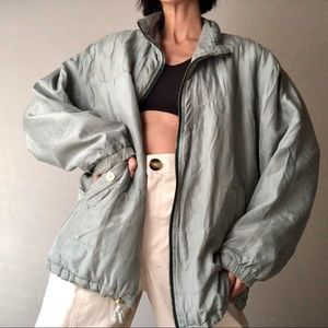 VTG Silk Bomber Jacket